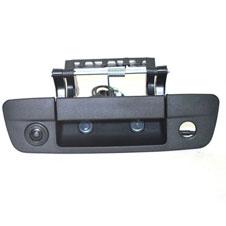 Tailgate handle backup camera