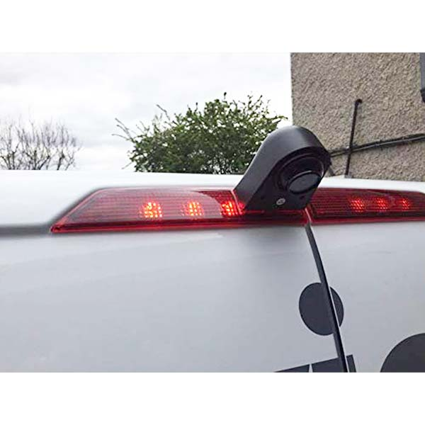 Third Brake Light Reverse Camera installation guide for Ford Transit Custom & oembackupcam.com