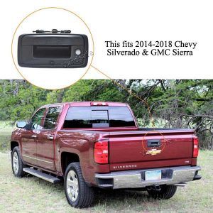 Chevrolet Silverado and GMC Sierra replacement reverse camera installation guide & oembacupcam.com