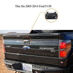 Ford F150 rear view backup camera customer installation & oembackupcam.com