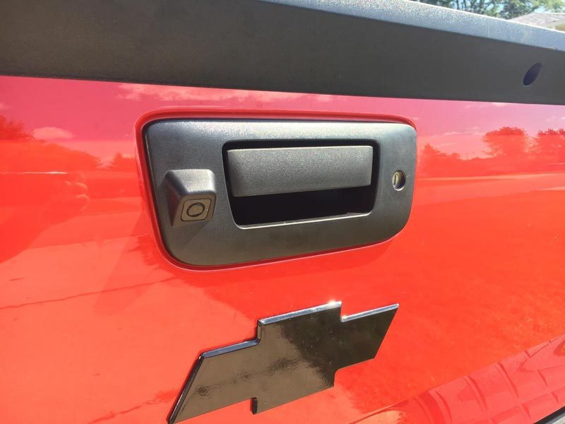 GMC Sierra and Chevrolet Silverado backup camera customer installation-oembackupcam.com