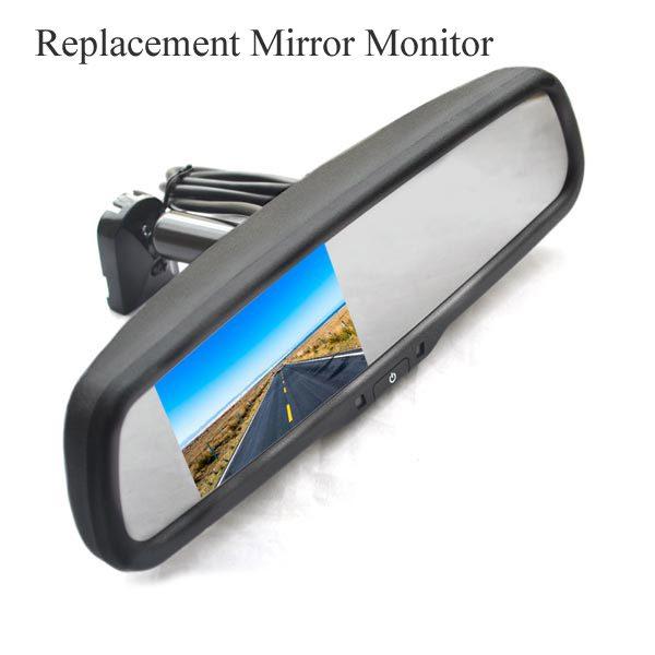 OEM rear view mirror monitor & oembackupcam.com