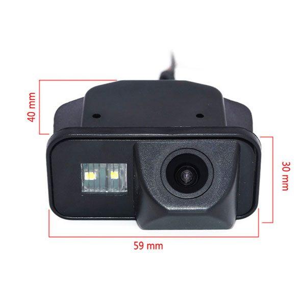Toyota Corolla reverse Camera dimension & oembackupcam.com