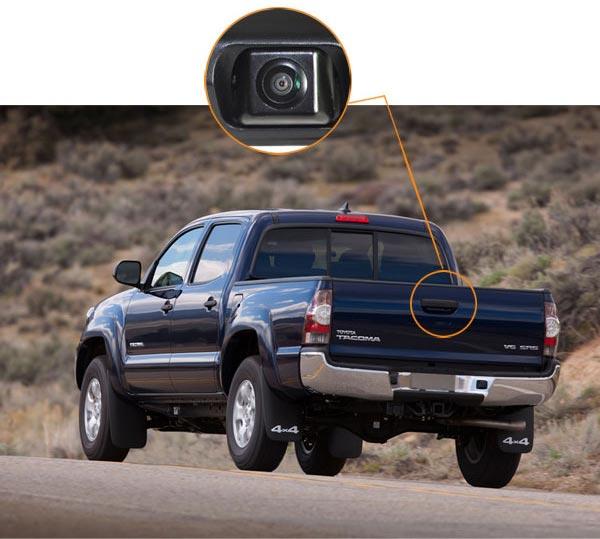 Toyota Tacoma backup camera customer installation & oembackupcam.com