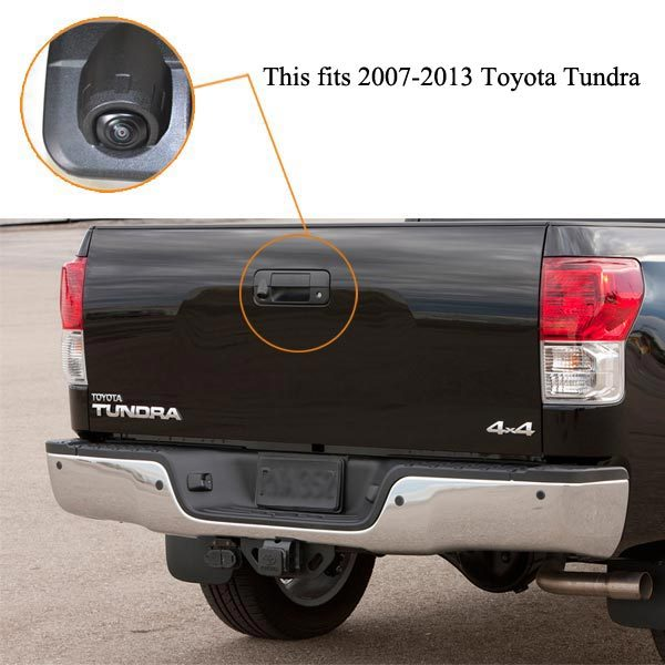 Toyota Tundra backup camera installation guide-oembackupcam.com