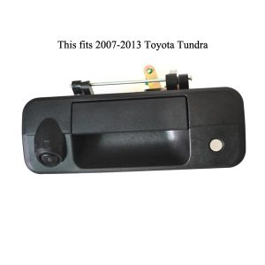 Toyota Tundra tailgate handle backup camera-oembackupcam.com