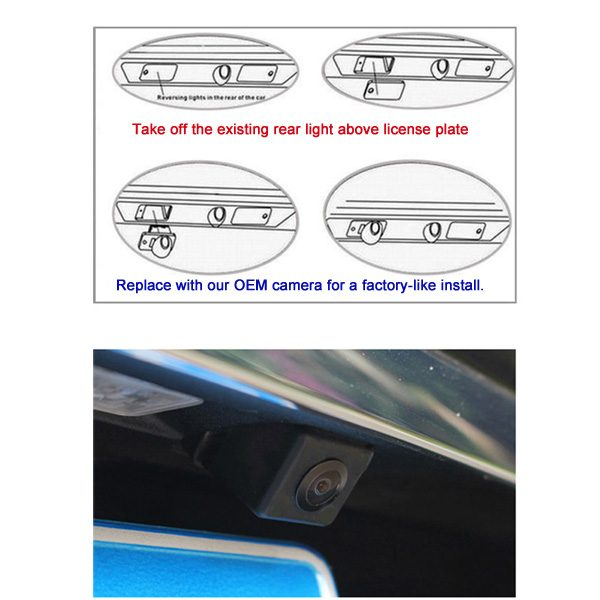 car oem backup camera installation guide & oembackupcam.com