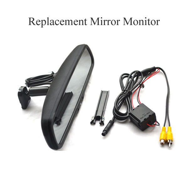 replacement rear view mirror monitor 4.3 inch & oembackupcam.com