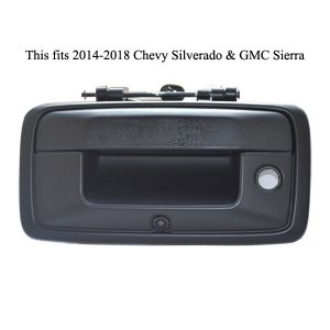 reverse camera for Chevrolet Silverado and GMC Sierra & oembacupcam.com