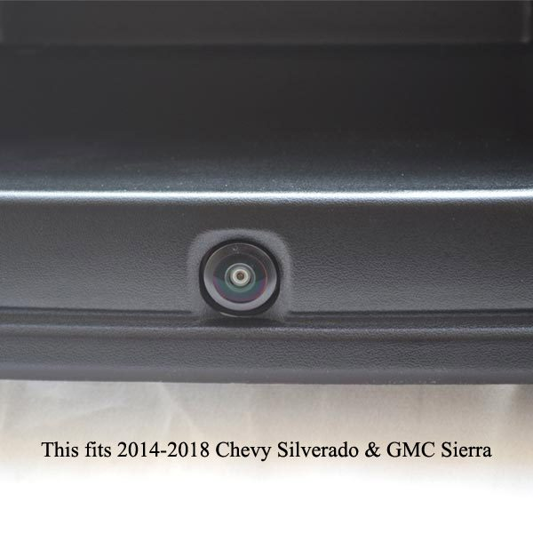 reverse rear view camera for Chevrolet Silverado and GMC Sierra & oembacupcam.com