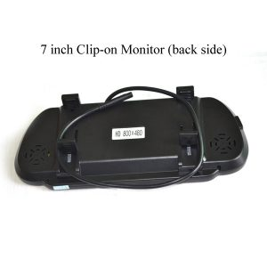 7 inch clip-on mirror monitor back side & oembackupcam.com