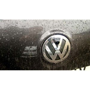 Front View LOGO Camera installation for VW Golf Bora Jetta Touareg Passat Lavida Polo Tiguan & oembackupcam.com