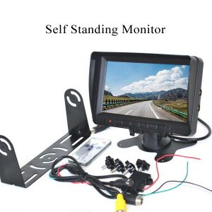 self standing rear view monitor with 2 mounting options & oembackupcam.com