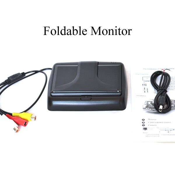 4.3 inch foldable rear view monitor & oembackupcam.com