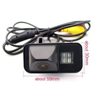 Toyota Avensis Backup Camera dimension & oembackupcam.com