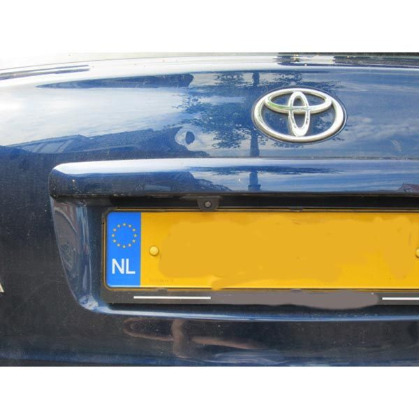 Toyota Avensis Backup Camera installation guide & oembackupcam.com