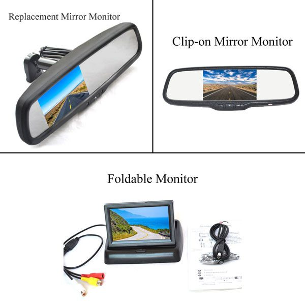 car rear view monitor options & oembackupcam.com