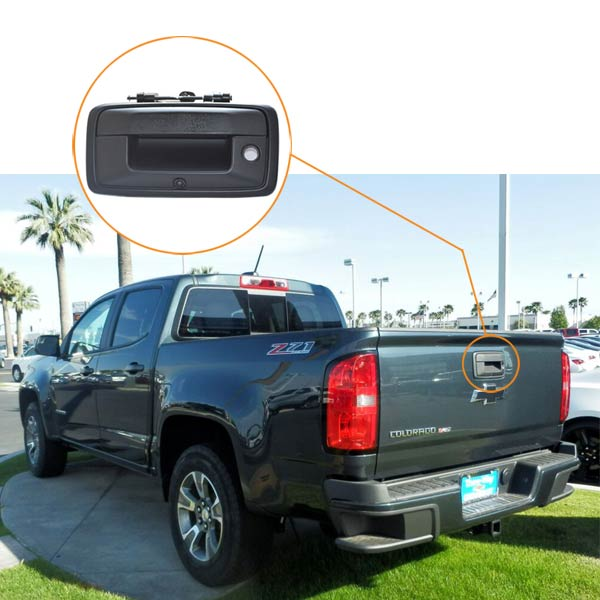 Chevrolet Colorado backup camera installation guide & oembackupcam.com