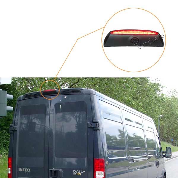 Iveco Daily reverse camera installation guide & oembacupcam.com
