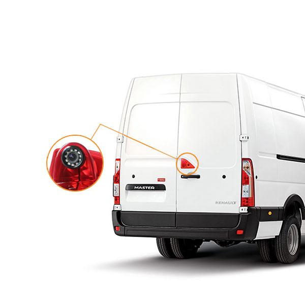 Renault Master reversing camera installation guide & oembackupcam.com