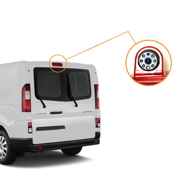 Renault Trafic reverse camera installation guide & oembackupcam.com