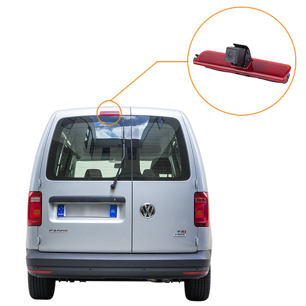 VW caddy reverse camera installation guide & oembackupcam.com