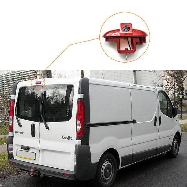 Brake Light Reverse Camera installation guide for Renault Trafic Opel Vivaro Vauxhall Vivaro & oembackupcam.com