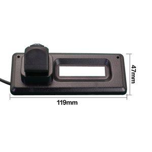 Reverse Camera dimension for Renault Koleos & oembackupcam.com