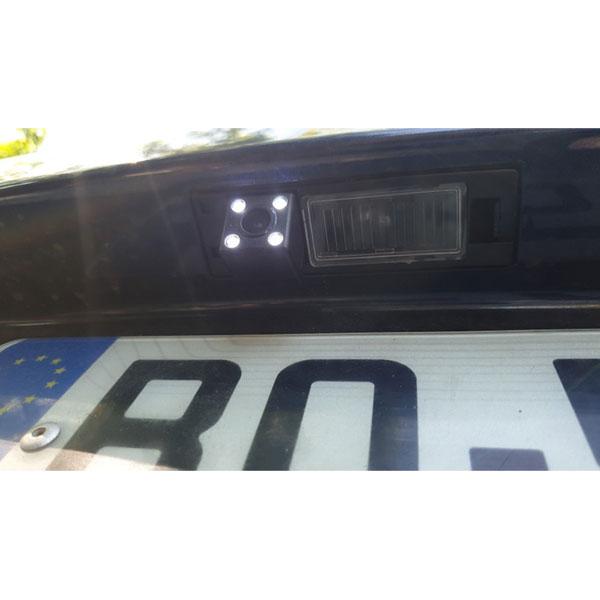 Opel Astra Corsa Meriva Vectra Zafira reverse camera customer installation