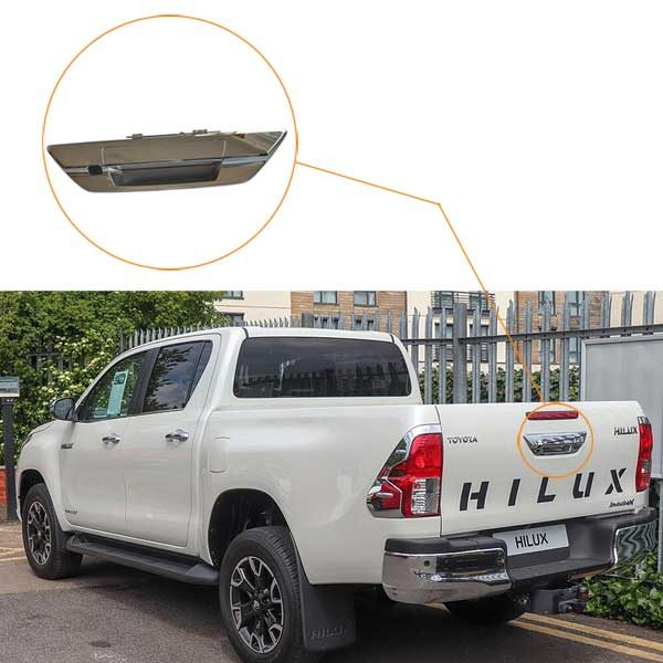 Toyota Hilux reversing camera installation guide